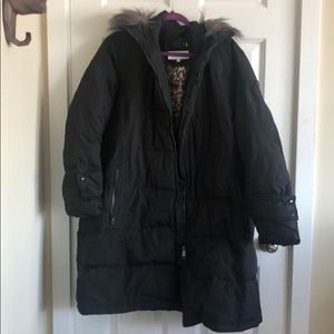 Calvin Klein Dark grey winter coat